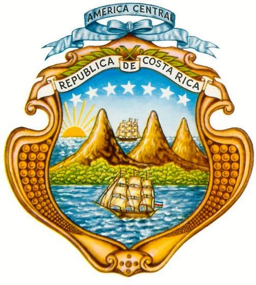 escudo de costa rica  elementos y significado