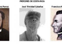 Personajes importantes de la independencia de Costa Rica