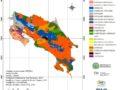 Mapa de suelos de Costa Rica