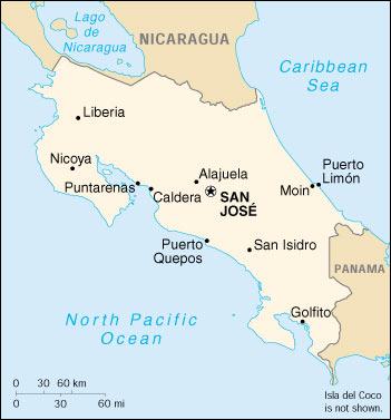 Puertos de Costa Rica